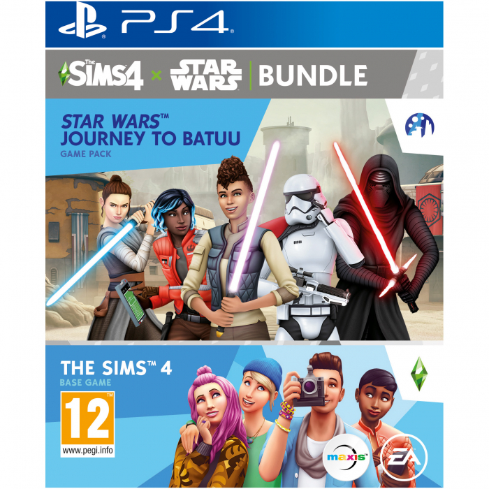 Joc The Sims 4 + Star Wars: Journey to Batuu BUNDLE pentru PlayStation 4 0