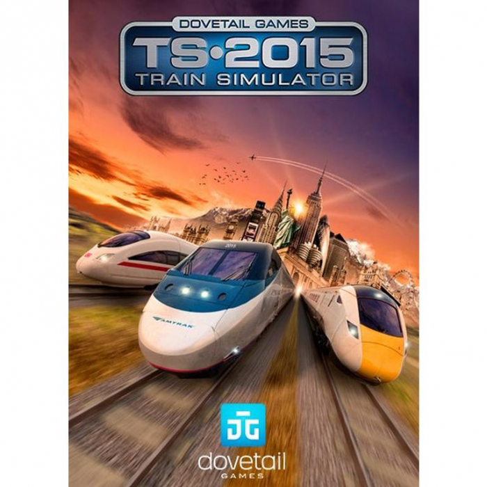 Joc Train Simulator 2015 Steam Key Europe PC (Cod Activare Instant) 0