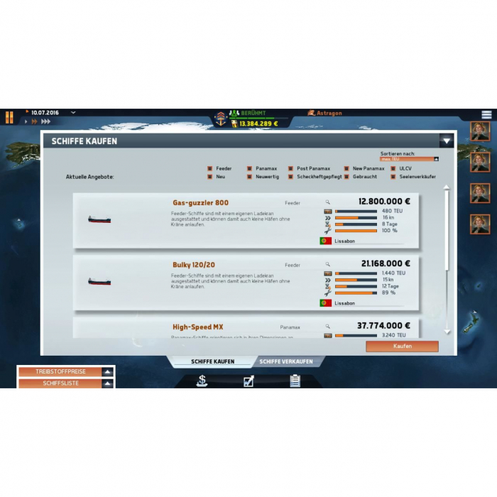 Joc TransOcean The Shipping Company Steam Key Global PC (Cod Activare Instant) 6