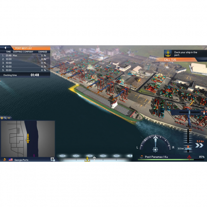 Joc TransOcean The Shipping Company Steam Key Global PC (Cod Activare Instant) 3