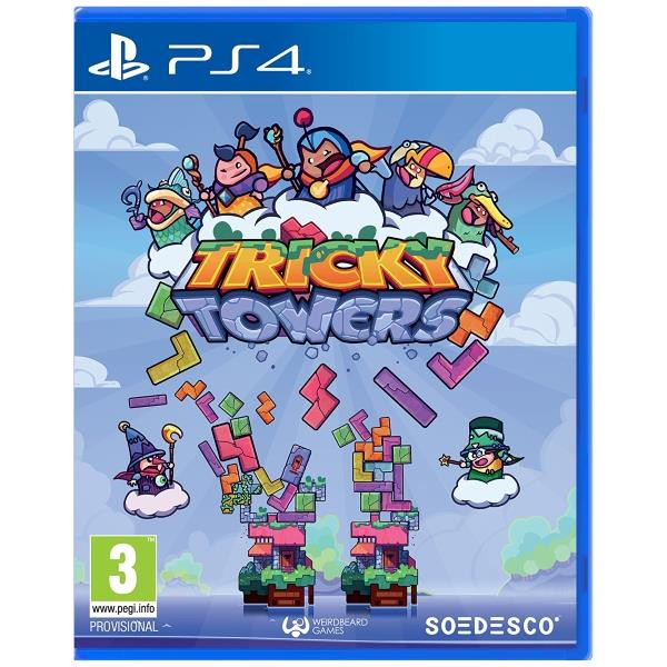 Joc Tricky Towers Ps4 0
