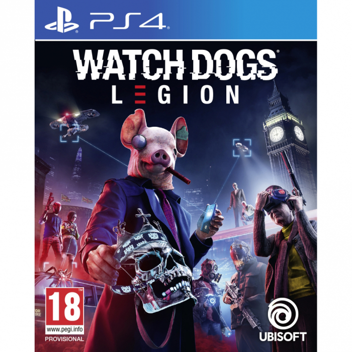 Joc WATCH DOGS LEGION pentru Playstation 4 0