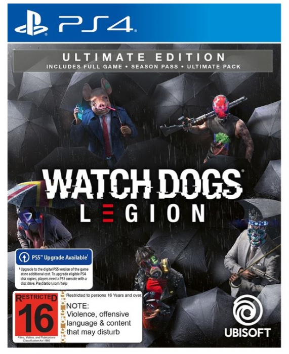Joc Watch Dogs Legion Ultimate Edition pentru PS4 (include upgrade la PlayStation 5) 0