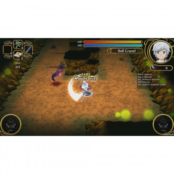 Joc Wrong to Pick Up Girls in a Dungeon Infinite Combate pentru PlayStation 4 4