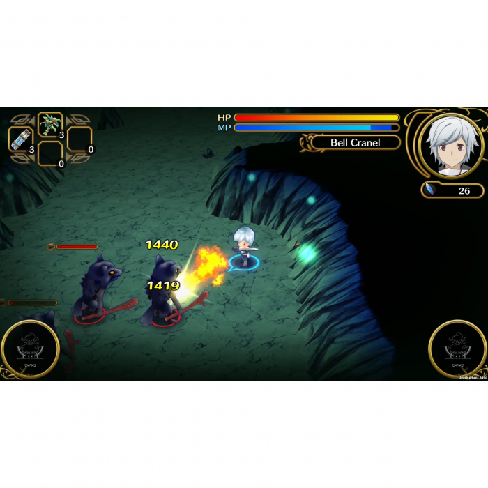 Joc Wrong to Pick Up Girls in a Dungeon Infinite Combate pentru PlayStation 4 6