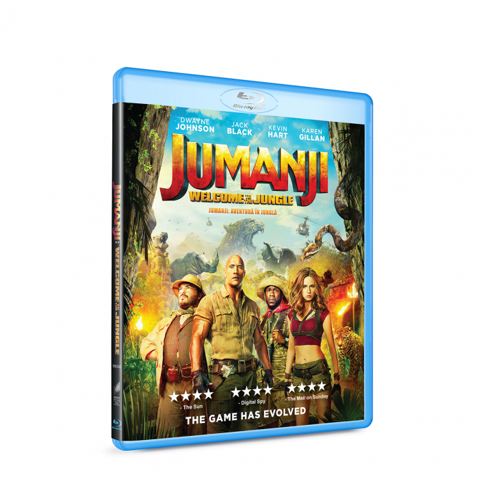 Jumanji: Aventura in jungla / Jumanji: Welcome to the Jungle - BLU-RAY 0