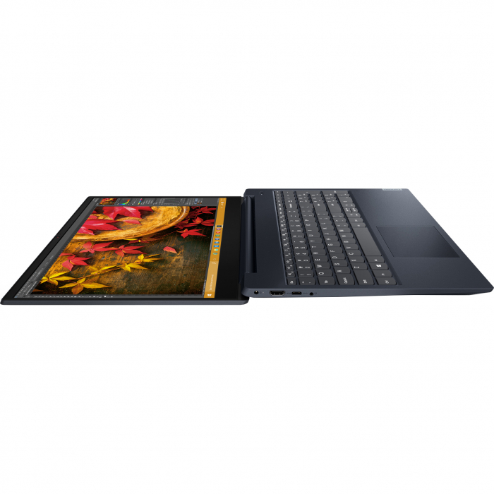 "Laptop Lenovo Ideapad S340-15IIL cu procesor Intel® Core™ i5-1035G1 pana la 3.60 GHz Ice Lake, 15.6"", Full HD, IPS, 8GB, 1TB HDD + 256GB SSD, Intel UHD Graphics, Free DOS, Abyss Blue 2"