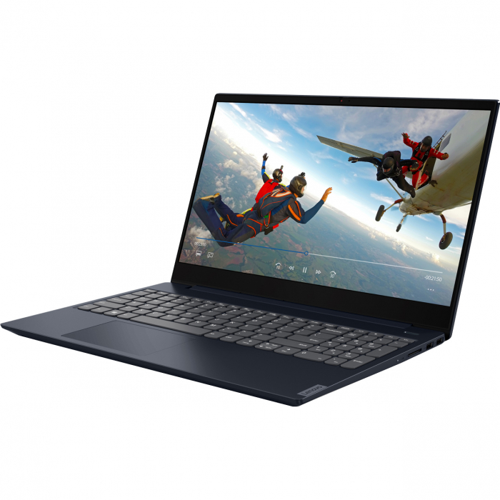 "Laptop Lenovo Ideapad S340-15IIL cu procesor Intel® Core™ i5-1035G1 pana la 3.60 GHz Ice Lake, 15.6"", Full HD, IPS, 8GB, 1TB HDD + 256GB SSD, Intel UHD Graphics, Free DOS, Abyss Blue 13"