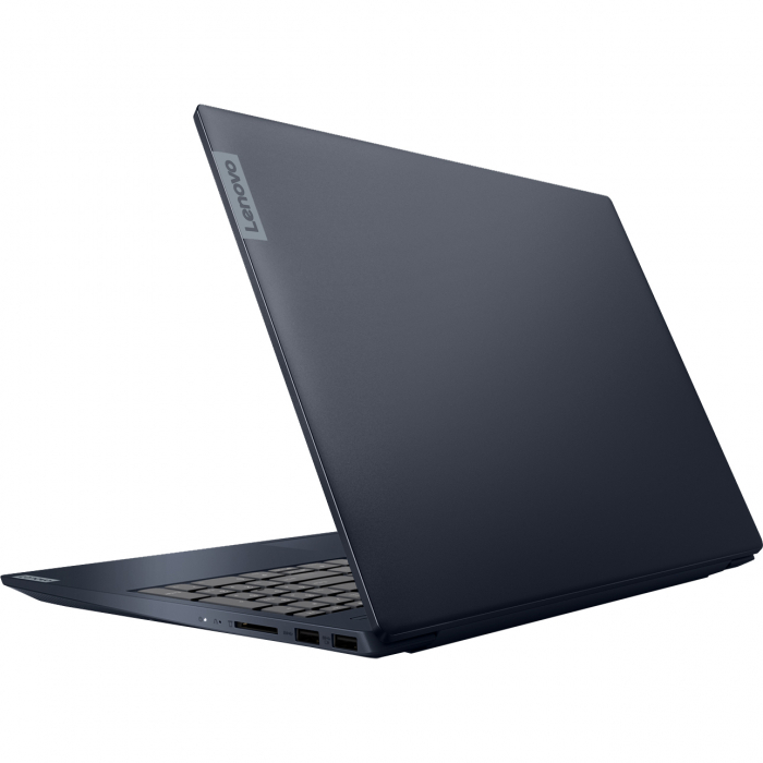 "Laptop Lenovo Ideapad S340-15IIL cu procesor Intel® Core™ i5-1035G1 pana la 3.60 GHz Ice Lake, 15.6"", Full HD, IPS, 8GB, 1TB HDD + 256GB SSD, Intel UHD Graphics, Free DOS, Abyss Blue 10"