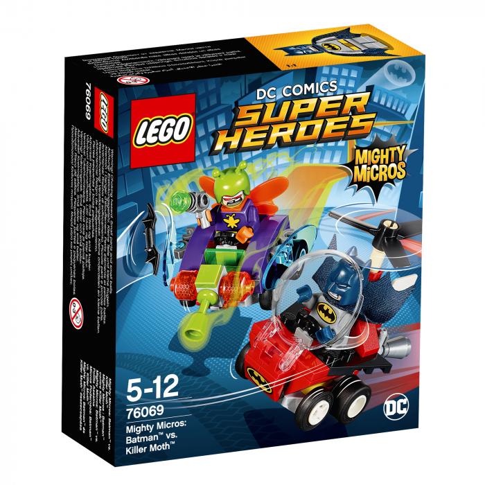 LEGO® Dc Comics Super Heroes Mighty Micros: Batman™ vs. Killer Moth™ 76069 0