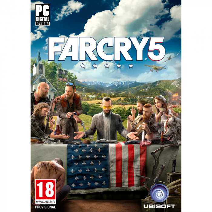 Licenta Electronica FAR CRY 5 - PC (UPLAY CODE) 0