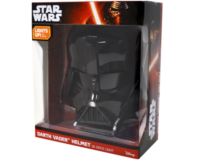 Masca Star Wars Darth Vader 3D Deco Light cu lumini 0