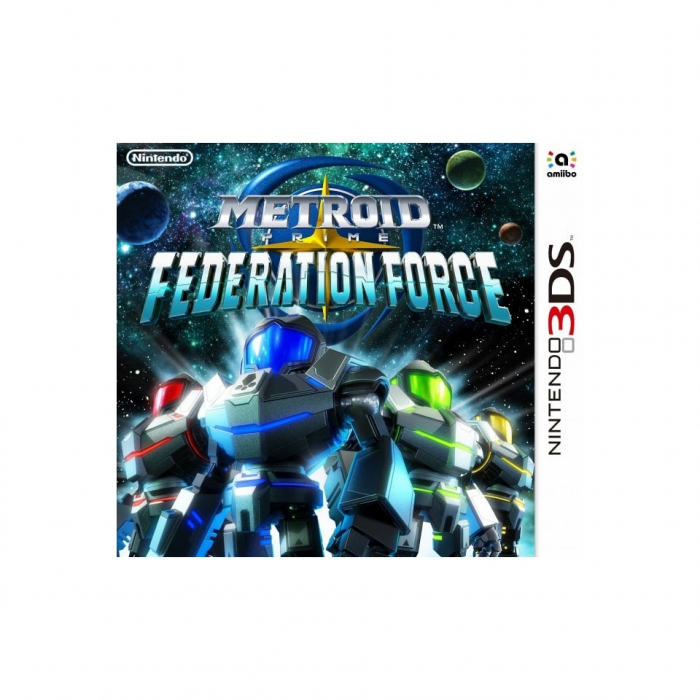 Metroid Prime: Federation Force /3DS 0