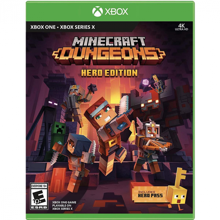 Joc Minecraft Dungeons Hero Edition  Xbox One si Series X 0