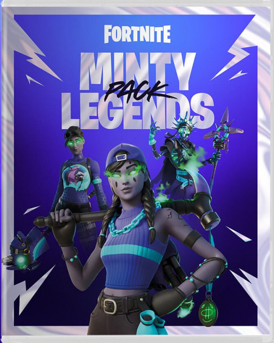 Fortnite: The Minty Legends Pack PS4 [0]