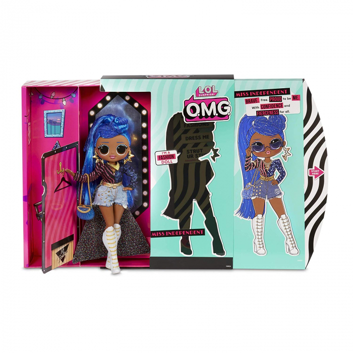Papusa L.O.L. Surprise! Fashion OMG, S2 - Miss Independent, Multicolor 3