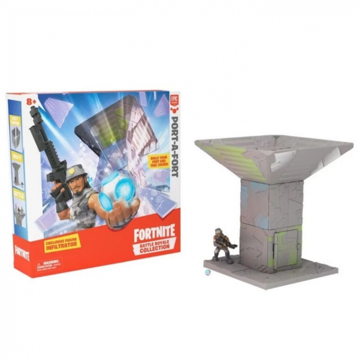 Set de joca cu figurina Fortnite Battle Royale - Port A Fort 1