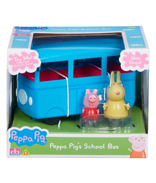 Set figurine Peppa Pig - School bus with Sound 7