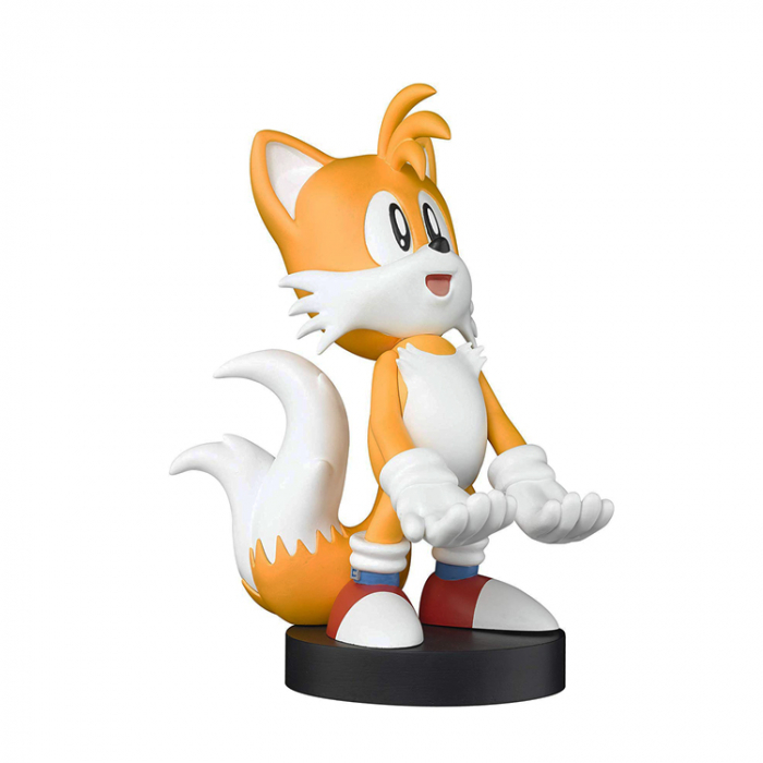Suport Incarcare Figurina Stand Sonic The Hedgehog Tails Cable Guy pentru Controllere si Telefoane Smartphone 0