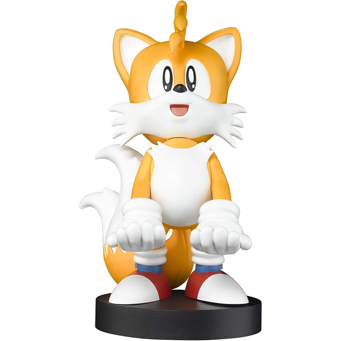 Suport Incarcare Figurina Stand Sonic The Hedgehog Tails Cable Guy pentru Controllere si Telefoane Smartphone 3