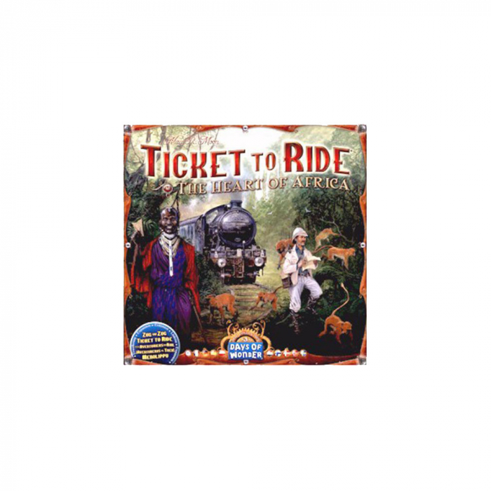 Ticket to Ride Map Collection: Volume 3 /-/ The Heart of Africa 0
