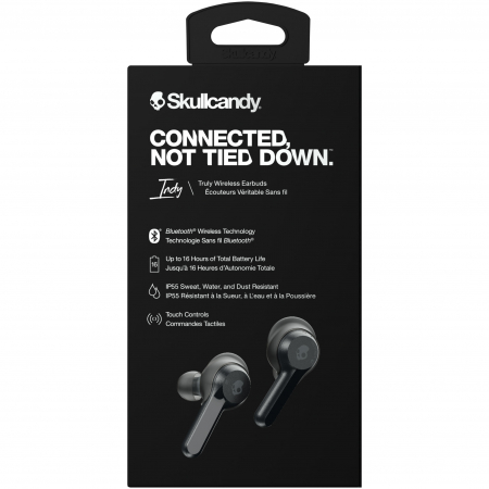 Casti audio In-Ear Skullcandy Indy, True Wireless, Microfon, Black2