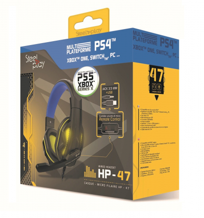 Casti Gaming Steelplay HP472