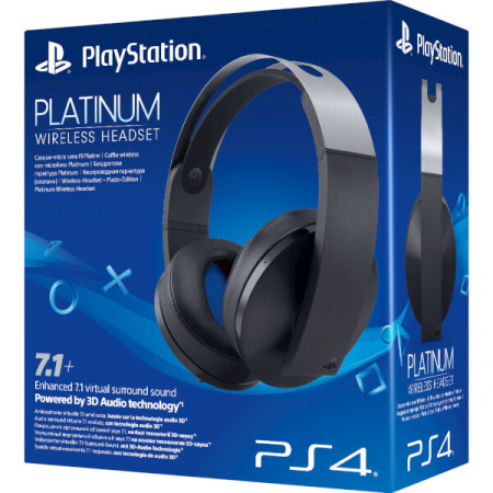Casti Sony, Wireless stereo, pentru Playstation 4, Platinum1