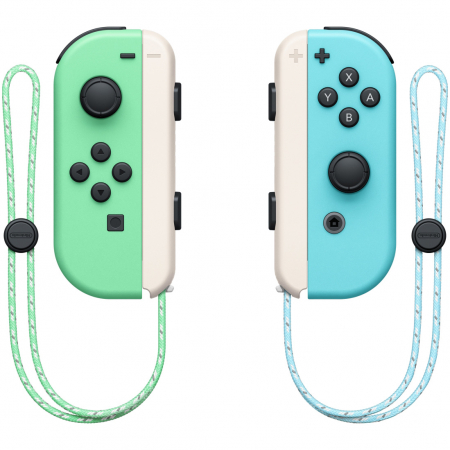 Consola NINTENDO SWITCH (WITH PASTEL GREEN & BLUE JOY-CONS) + Animal Crossing: New Horizons1