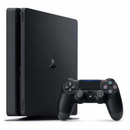 Consola PlayStation 4 Slim 500 GB Black + FIFA 20 + Gamepad DualShock 4 Wireless V21