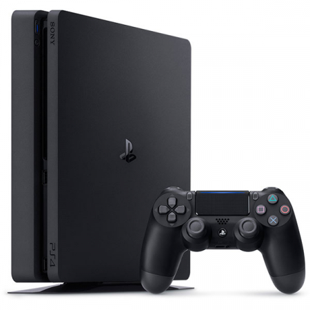 Consola SONY Playstation 4 Slim, 1TB, Jet Black + God of War HITS + Horizon Zero Dawn Complete Edition HITS + The Last of Us Remastered HITS9