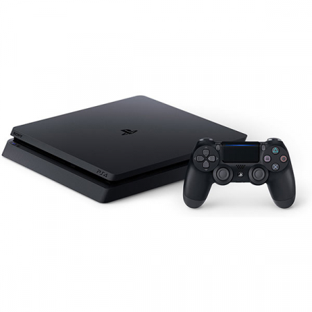 Consola SONY Playstation 4 Slim, 1TB, Jet Black + God of War HITS + Horizon Zero Dawn Complete Edition HITS + The Last of Us Remastered HITS5