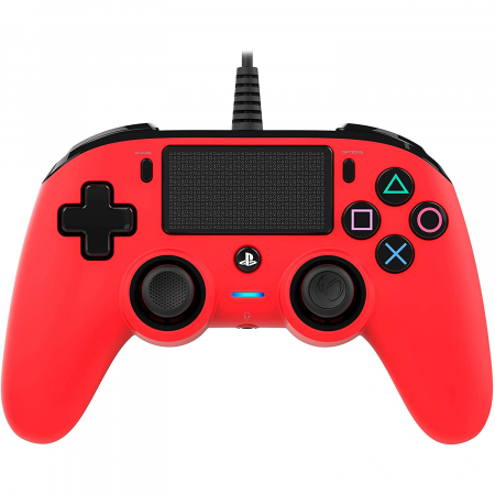 Controller Nacon Wired Compact Color Edition Red Ps40
