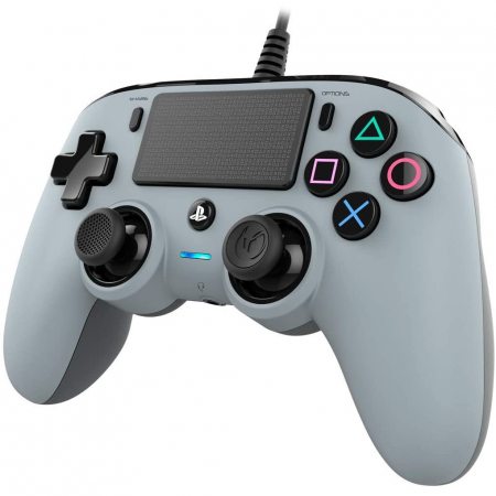 Controller Nacon Wired Compact Color Edition Silver Ps45