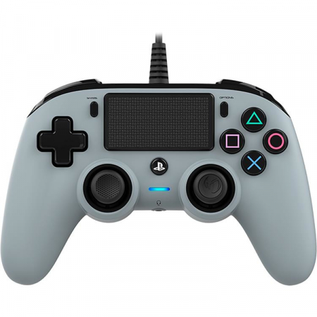 Controller Nacon Wired Compact Color Edition Silver Ps40