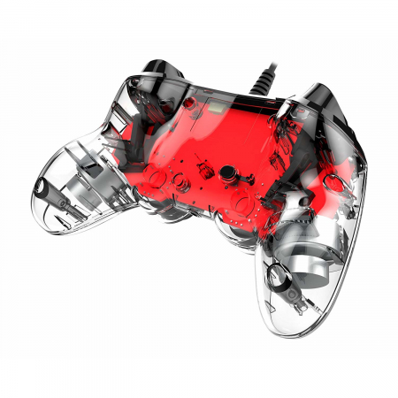Controller Nacon Wired Illuminated Compact Light Edition Red Ps43