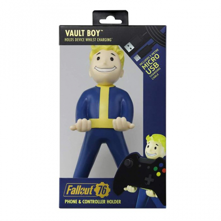 Figurina Suport Fallout Vault Boy 76 Cable Guy2
