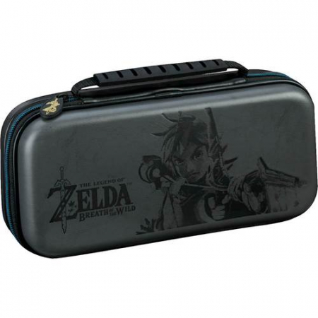 Husa Deluxe Travel Case Zelda Grey pentru Nintendo Switch0