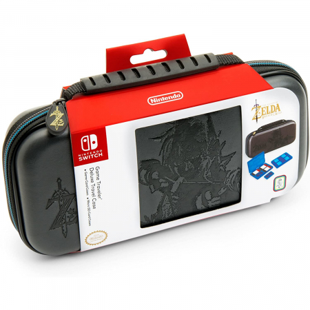 Husa Deluxe Travel Case Zelda Grey pentru Nintendo Switch1