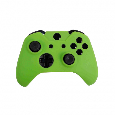 Husa Orb Xbox One Controller Silicone Skin Cover Green2