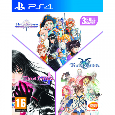 Joc BUNDLE Tales of Vesperia Definitive Edition + Tales of Zestiria + Tales of Berseria pentru PlayStation 40
