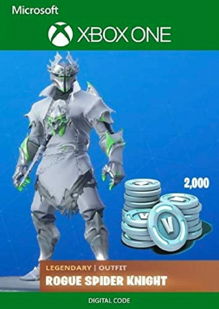 Joc Fortnite Legendary Rogue Spider Knight Outfit + 2000 V-Bucks Bundle (Xbox One) Digital DLC0