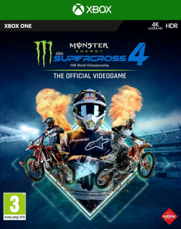 Joc Monster Energy Supercross 4 Pentru Xbox One0