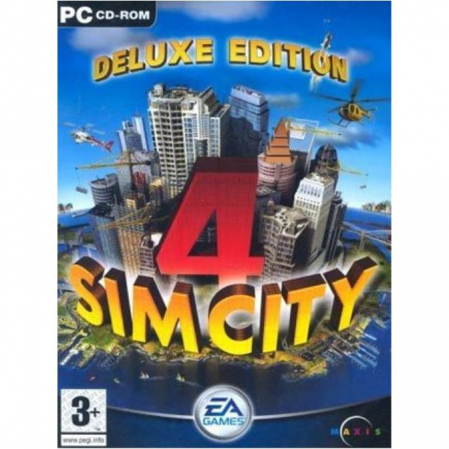 Joc SimCity 4 Deluxe Steam Key Global PC (Cod Activare Instant)0