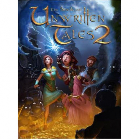 Joc The Book of Unwritten Tales 2 Steam Key Global PC (Cod Activare Instant)0