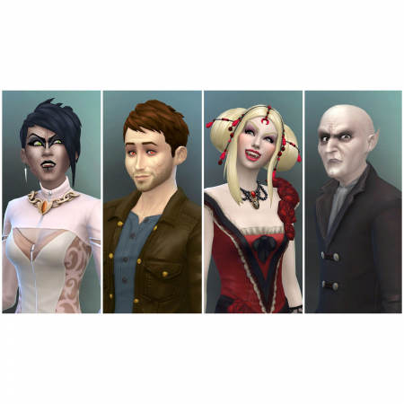 Joc The Sims 4 - Vampires Origin Key Global PC (Cod Activare Instant)4