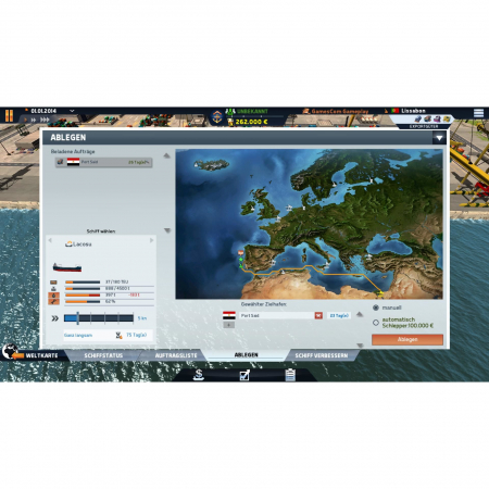 Joc TransOcean The Shipping Company Steam Key Global PC (Cod Activare Instant)5