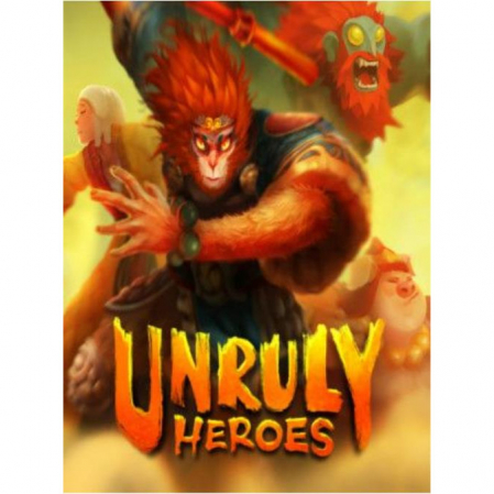 Joc Unruly Heroes Steam Key Global PC (Cod Activare Instant)0
