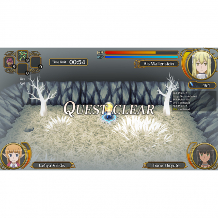 Joc Wrong to Pick Up Girls in a Dungeon Infinite Combate pentru PlayStation 43