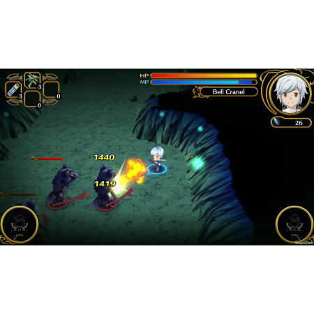 Joc Wrong to Pick Up Girls in a Dungeon Infinite Combate pentru PlayStation 46
